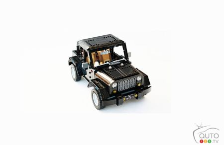2016 Christmas gift idea: LEGO Jeep Wrangler Rubicon