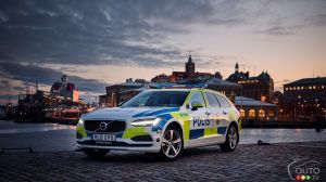 Volvo V90 soon to serve Swedish police