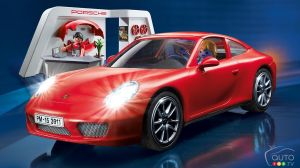 2016 Christmas gift idea: Porsche 911 Carrera S PLAYMOBIL