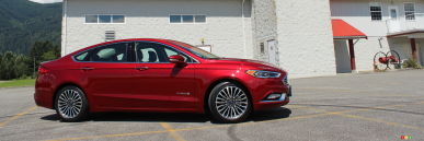 2017 Ford Fusion Hybrid Titanium Review