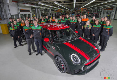 Already 3 Million MINI cars Assembled at Oxford Plant since 2001