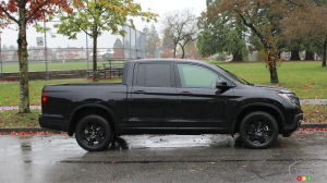 2017 Honda Ridgeline Black Edition Review