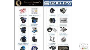 2016 Christmas gift idea: Shelby Store, for real Mustang fans