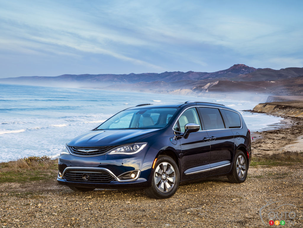 The 2017 Chrysler Pacifica hybrid