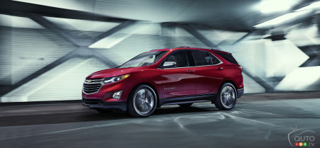 2018 Chevrolet Equinox: From $26,995 in Canada, as of Spring 2017