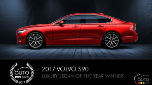 Volvo S90, Auto123.com's Luxury Sedan of the Year, promises concierge services