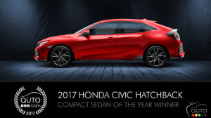 2017 honda civic hatchback vs 2017 toyota corolla im car reviews auto123. Black Bedroom Furniture Sets. Home Design Ideas