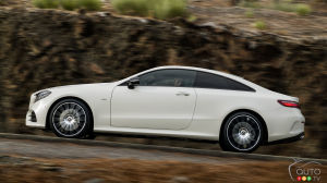2018 Mercedes-Benz E-Class Coupe revealed ahead of Detroit Auto Show