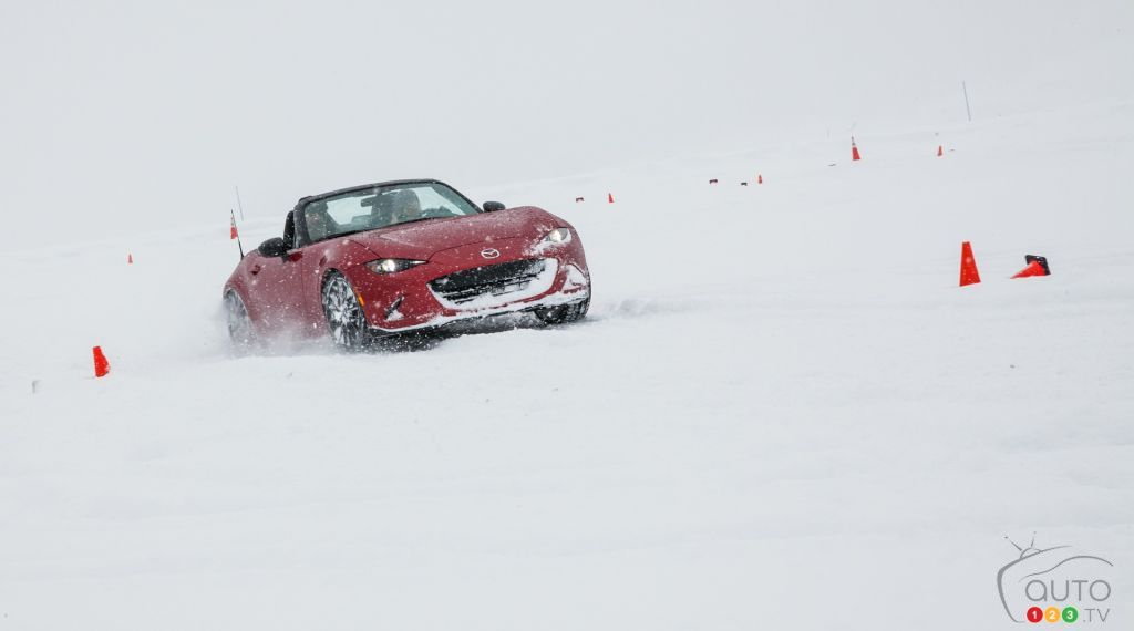 Mazda Ice Academy : Lots of fun in the snow!
