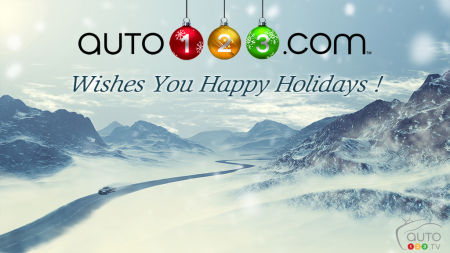 Happy Holidays on Auto123.com!