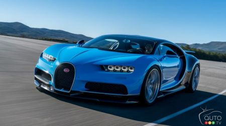 Bugatti Chiron, one of 2016's most stunning new models (video)