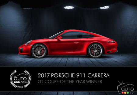Porsche 911, Auto123.com's GT Coupe of the Year, becomes the extreme RSR (video)