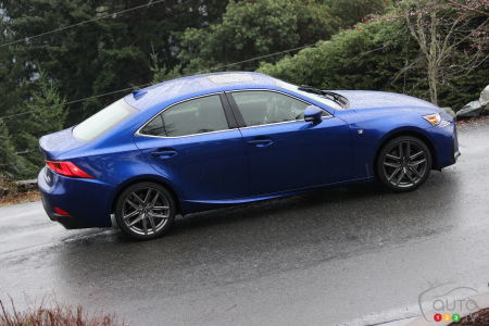 2017 Lexus IS First Drive