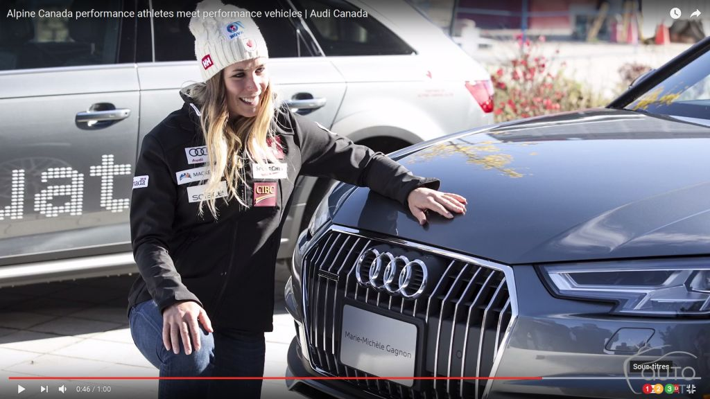 Audi and alpine skiing, a winning combination (video)