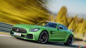 Watch the Mercedes-AMG GT R devour the Nürburgring (video)