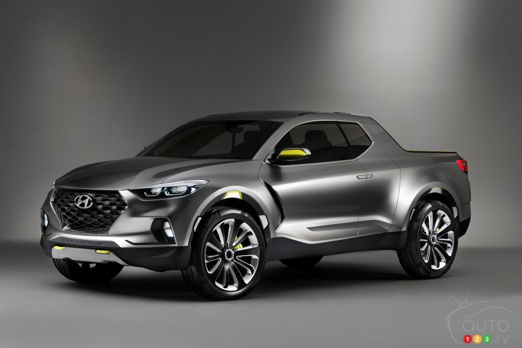 Hyundai Santa Cruz pickup to hit the market in 2017