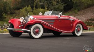 1937 Mercedes-Benz 540 K sold for $9.9 million USD