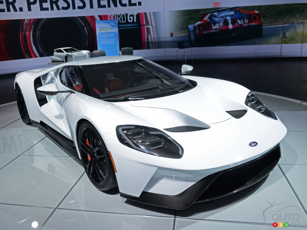 The Ford GT at 2016 NAIAS
