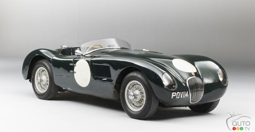 Beautiful Bonhams To Auction Well Preserved 1950s Jaguar C Type At Monaco