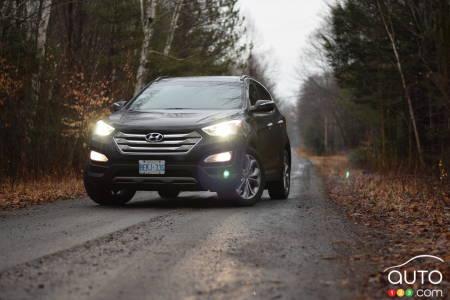 2016 Hyundai Santa Fe Sport 2 0T makes you enjoy winter