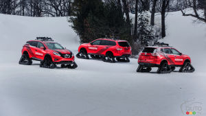Track-equipped Nissan Warrior concepts headed to Chicago