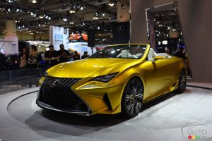 Toronto 2016: Lexus LF-C2 Concept promises exciting roadster