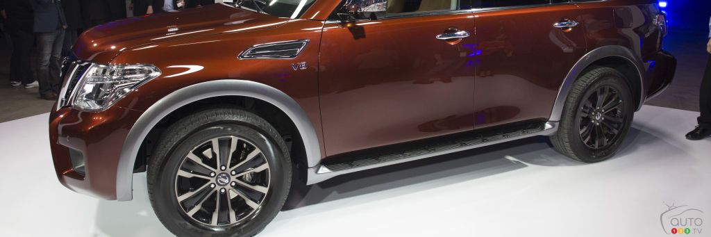 Nissan Previews 2017 Nissan Armada at Chicago Auto Show