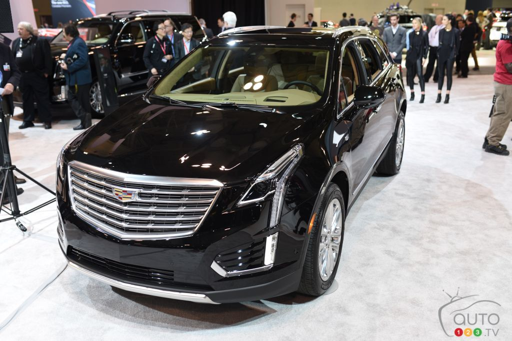 the 2017 cadillac xt5 crossover at cias 2016 car news auto123. Black Bedroom Furniture Sets. Home Design Ideas