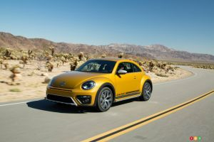 2016 VW Beetle Dune on display at Toronto Auto Show