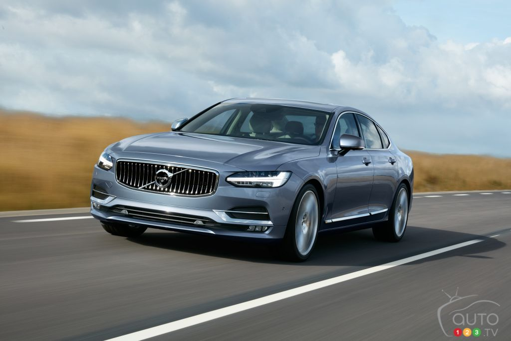 Volvo S90 Makes U.S. Debut at Chicago Auto Show