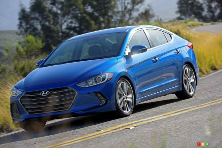 2017 Hyundai Elantra to start at $15,999 in Canada