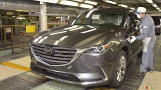 2016 Mazda CX-9 production has started in Japan