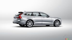 All-new Volvo V90 wagon unveiled in Sweden