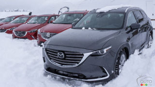 Mazda CX-5, CX-3 shine at Mazda Ice Academy