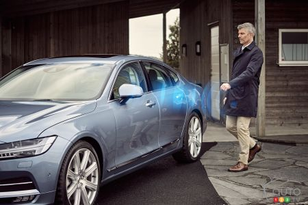 Volvo to eliminate car keys by 2017, replace them with app