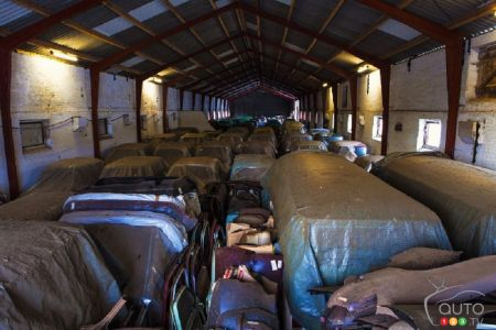Over 50 vintage Renault cars found in Danish barn