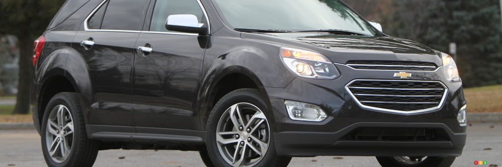 the 2016 chevy equinox ltz is all about room and comfort car reviews auto123. Black Bedroom Furniture Sets. Home Design Ideas