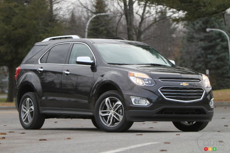 2016 Chevrolet Equinox Ltz Review