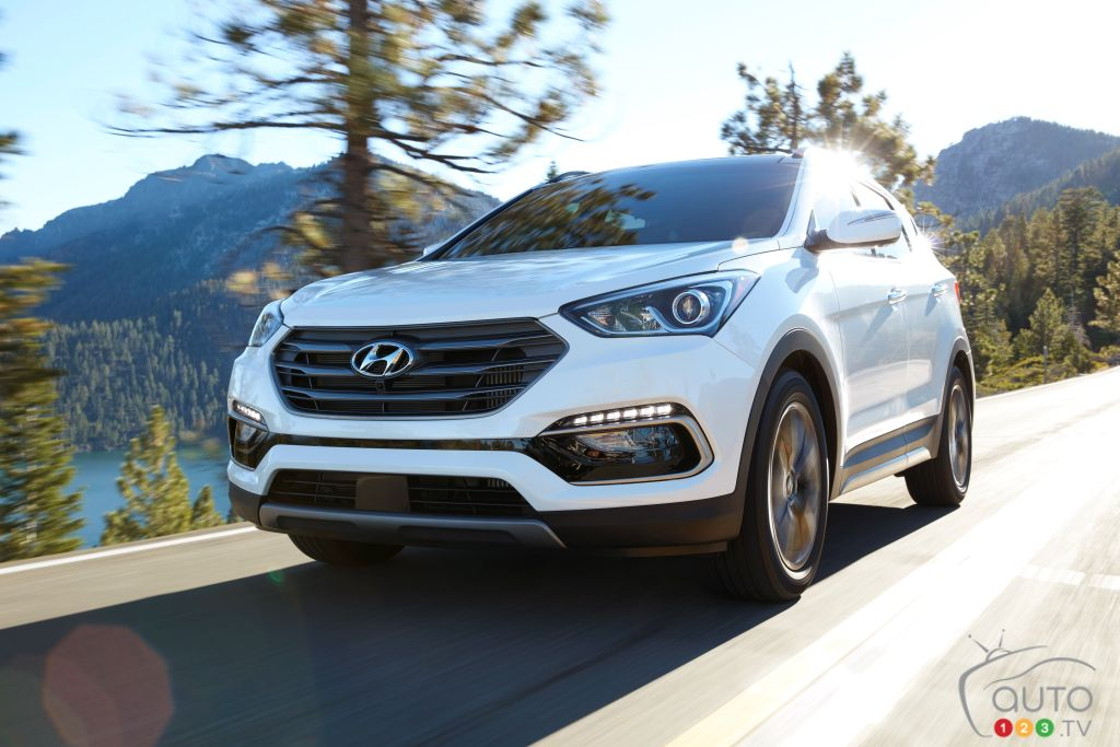 Revised 2017 Hyundai Santa Fe Sport about to hit Canadian showrooms