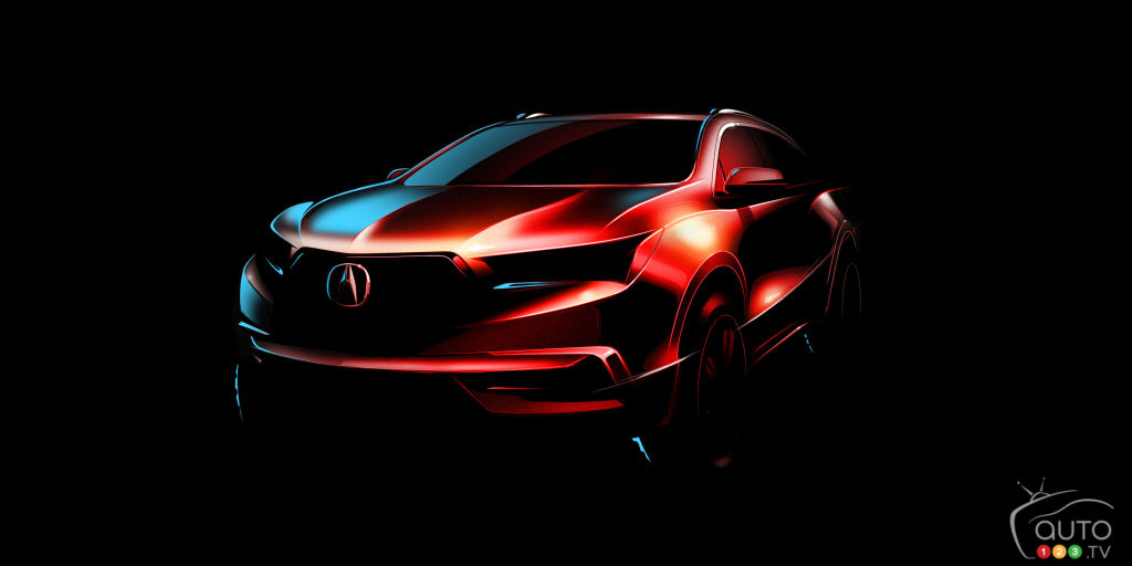 2017 Acura MDX to debut at New York Auto Show