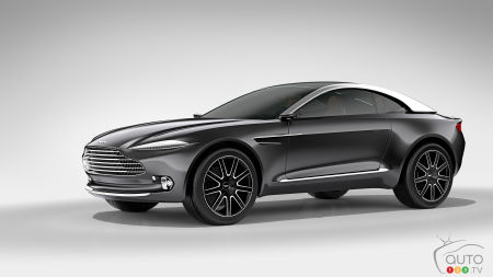 Aston Martin DBX to be built in the U.K. in 2020
