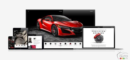2017 Acura NSX configurator helps you build your dream NSX