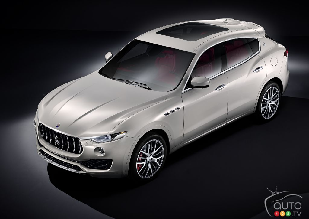 Maserati Levante production has just begun in Italy