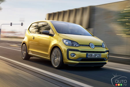 2016 Geneva Auto Show: New little up! from VW