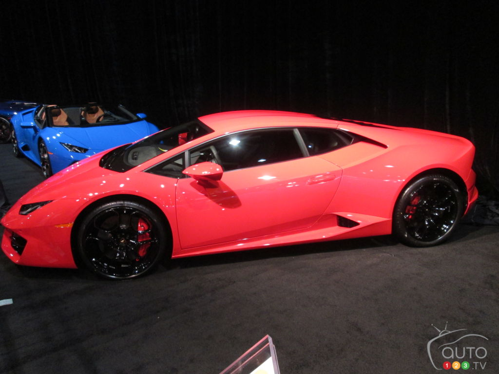 Quebec 2016: Lamborghini Huracán LP 580-2 makes Canadian debut