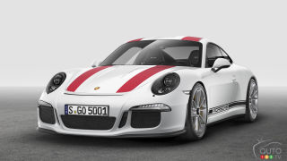 Geneva 2016: Porsche 911 R unveiled at last