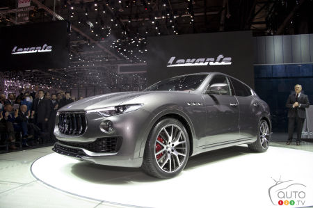 Maserati Levante now officially introduced in Geneva