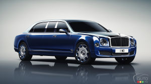 Geneva 2016: Bentley unveils Mulsanne Grand Limousine by Mulliner