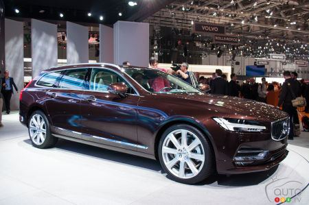 Top 10 station wagons at the 2016 Geneva Auto Show