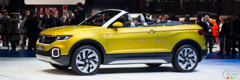 Geneva 2016: Volkswagen T-Cross Breeze concept